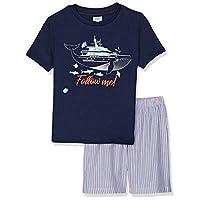 OVS Boy's 191PJA374-228 pyjamas, Purple (Deep Cobalt 2108), 3-4