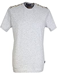 b9a7b7f04fd Aquascutum Men`s Noel Crew Neck T-Shirt - Grey