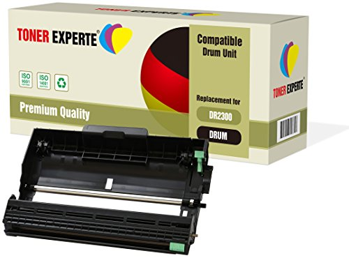 TONER EXPERTE DR2300 Tamburo Compatibile per Brother HL-L2300D HL-L2340DW HL-L2360DN HL-L2365DW DCP-L2500D DCP-L2520DW DCP-L2540DN DCP-L2560DW MFC-L2700DW MFC-L2720DW MFC-L2740DW (12000 Pagine)