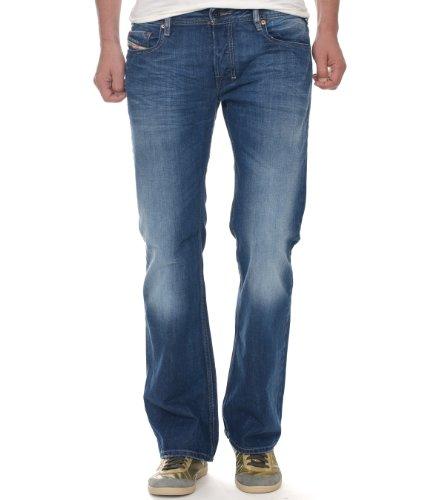 Diesel Herren Zatiny 8XR Bootcut Jeans, Blau, 32W x 30L