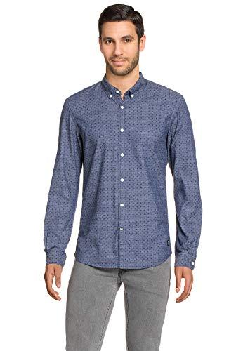 TOM TAILOR Denim Männer Blusen & Shirts Gemustertes Hemd