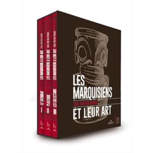 Les marquisiens et leur art : coffret des trois volumes par Karl von den Steinen