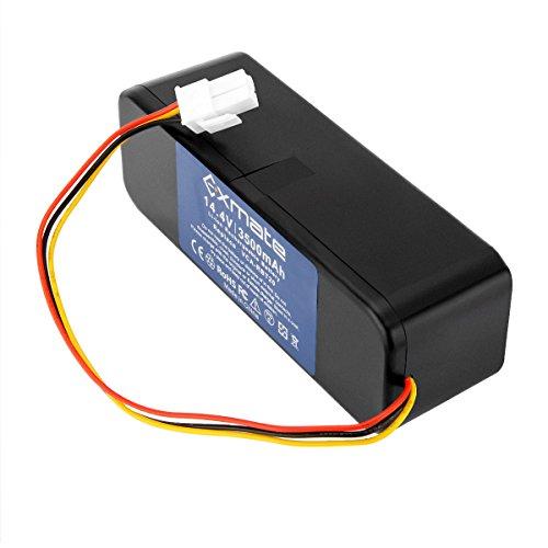 Exmate 14,4V 3500mAh Li-Ion Ersatzakku für Samsung Navibot SR8730 SR8824 SR8825 SR8828 SR8830 SR8841 SR8843 SR8846 SR8895 SR8855 Ersetzen Samsung VCA-RBT20 DJ63-01050A AP5576883 AP5579205 DJ96-00113C DJ96-00116B DJ96-0083C