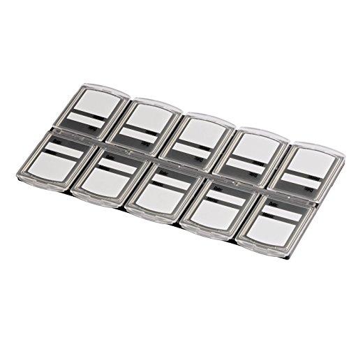 Hama Speicherkarten-Box für 10 Speichermedien, Transparent - Sd Tm-karte