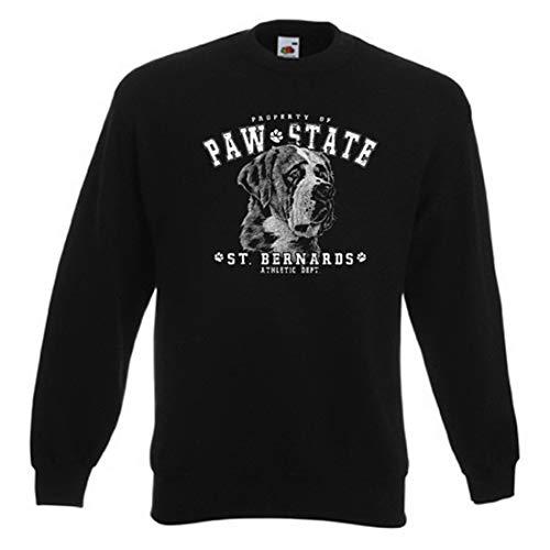 Sweater: Property of Paw State - St. Bernards - Athletic Dept. Athletic Dept Sweatshirt