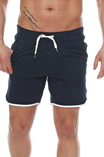 4732e8d7ea19 Happy Clothing Herren Hose kurz Shorts Bermuda Jogginghose Sommer Pants  Stoffhose Sweathose, Größe L