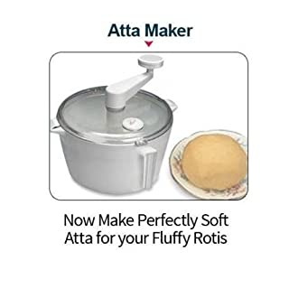 Dough Kneader Atta Maker for Roti/Chapati/Tortilla with Free Measuring Cups