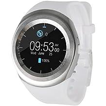 YUYOUG 2018 Smart Watch Cámara Bluetooth Smart reloj de pulsera teléfono con ranura de tarjeta SIM