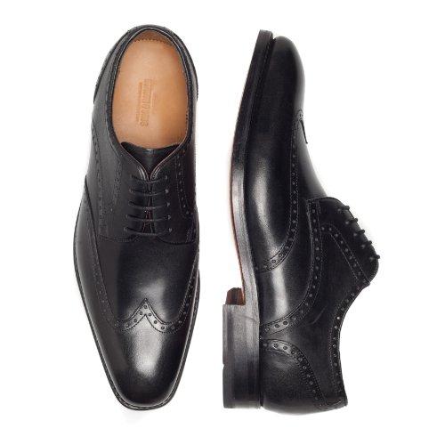 Gordon & Bros Havret, Derby Homme Noir (Black)