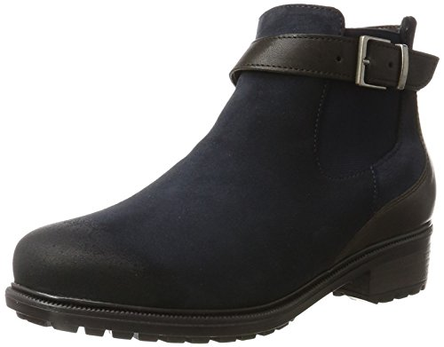 Kansas Schuhe (ara Kansas-St 12-48816,  Stiefel, Blau (Blau,Moro), 40 EU (6.5 UK))