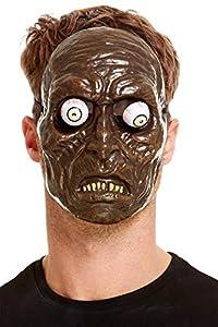 Smiffys 52159 - Máscara de zombi, unisex, color verde