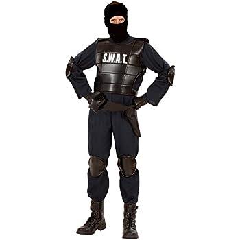 Widmann 55341 Costume pour adulte Agent du SWAT (unité d'élite américaine)