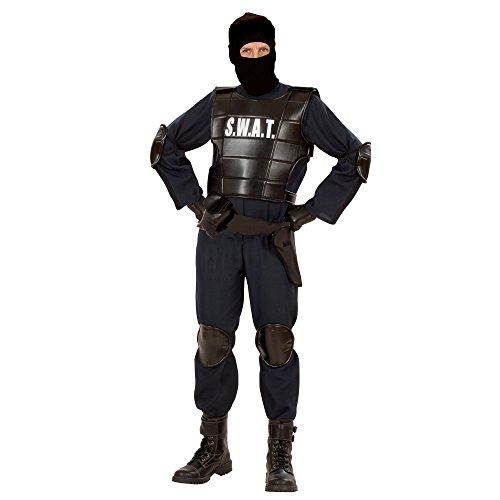 Swat Kostüm Officer (Widmann 55343 - Erwachsenenkostüm Swat)