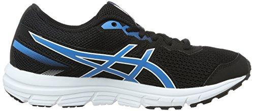 Asics Gel-Zaraca 5 GS, Gymnastique Unisexe - Enfant Nero (Black/Blue Jewel/White)