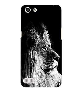 EPICCASE Majestic lion Mobile Back Case Cover For OPPO Neo 7 (Designer Case)