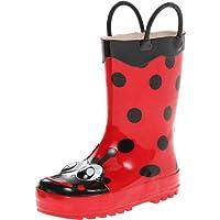 Western Chief Kids Ladybug Rain Boot(Toddler/Little Kid/Big Kid),Red,8 M US Toddler