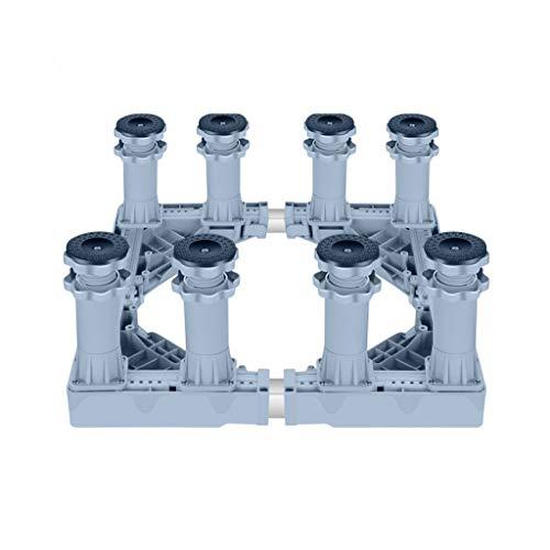 Una base doméstica que contacta directamente con la placa inferior y transmite la fuerza de soporte del soporte a la placa inferiorNombre del producto: Base de electrodomésticosTamaño del producto: (45-75) × (44-75) × (17-20) cm, soporte tipo A de oc...