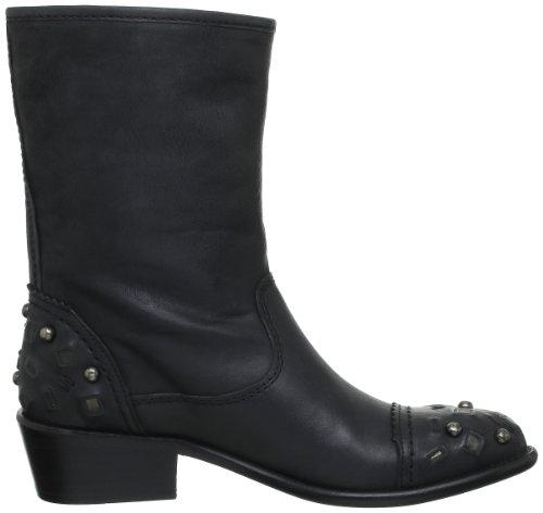 Coral Blue Cbk 312011 Lea, Boots femme Noir (Black)