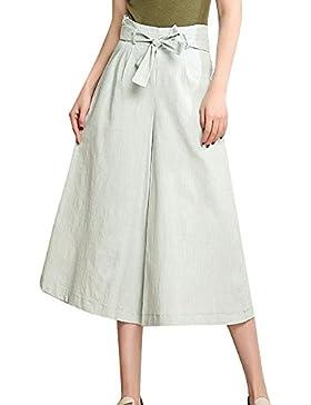 Elegantes Mujer Pantalones Ancho