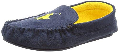 Polo Ralph LaurenDesi Moccasin - Pantofole uomo , Blu (Blu (Navy)), 43