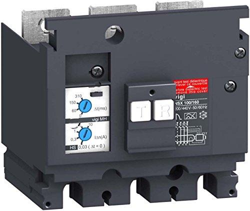 Schneider LV429215 Differenzstromblock Compact Vigi MH, 30-10000mA, 440-550 V, 3p Mh Compact