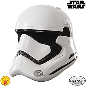 Star Wars - Casco de Stormtrooper para adulto, talla única (Rubie