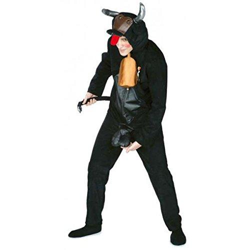 Disfraz de Toro con 'Atributos'. Talla única de Adulto.