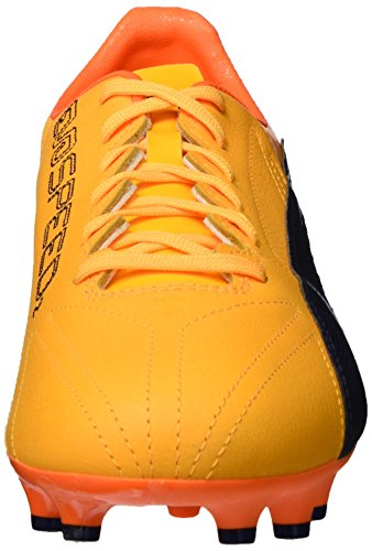 Puma Evospeed 17.2 Lth Fg, Scarpe da Calcio Uomo Giallo (Ultra Yellow-peacoat-orange Clown Fish 02)