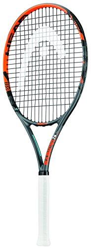 """Head Kid's Radical Racchetta Da Tennis per bambini, colore Nero/Arancia, 26"""""""