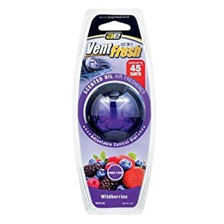 Vent Fresh Air Freshener Scented Oil Wildberries Scent by Auto Expressions