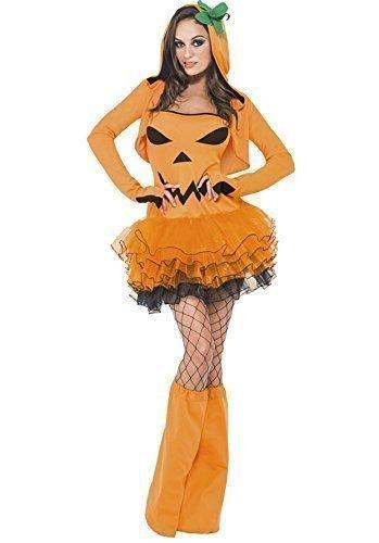 Tutu Halloween Kostüm - Damen: 36-38 (Jack O Laternen Ideen)