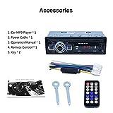 Auto-MP3-Player, Auto-DVD-SD-Kartenleser USB-Auto-MP3-Player mit Bluetooth-Panel-FM-Tuner Aux In Fernbedienung