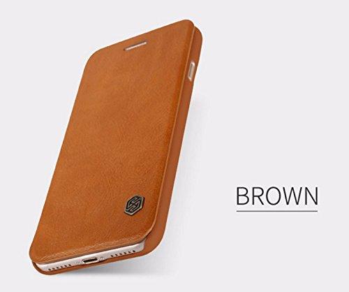 Nillkin, Qin Leder Cover Fall für Apple iPhone 7Plus-Braun Nillkin Fall