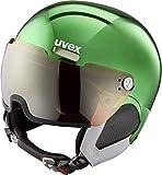Uvex HLMT 500 Visor Chrome LTD Skihelm, Green, 55-59 cm