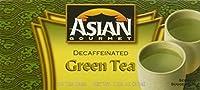 Asian Gourmet decaffeinated green tea, 24-bags, 1.5-oz. box