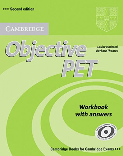Preisvergleich Produktbild Objective PET: Workbook with answers