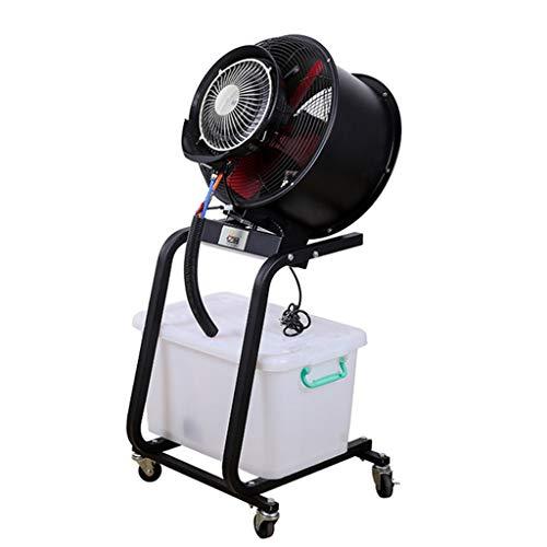 AIYE SHOP Fan 60L Wassertank - Standventilator Kühlung Sprühnebel Luftbefeuchter Leiser Turm Zerstäubung Kommerzieller Oszillierender Ventilator - Einstellbare Nebelmenge