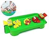 Hilai La alimentación del Juego de la Rana Alimentar Tablero 3D Frogies Juego de Mesa niños de la diversión Juego de Escritorio Juguetes para 2 Jugadores
