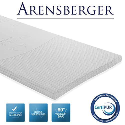 Arensberger Visco Schaum VS6 Matratzenauflage/Topper, 160 x 200 cm -