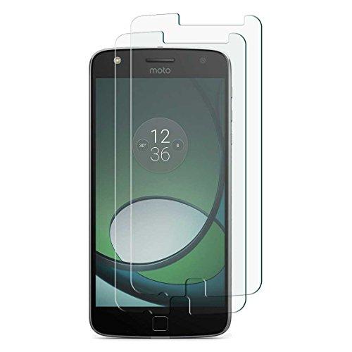Motorola Moto Z Play–2x Ultra claire Film de protection anti-éclats en verre Verre Trempé d'écran de dureté 9H Verre Trempé Panzer Film en verre