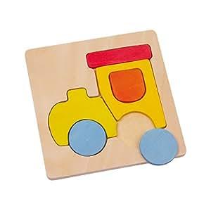 Legler - 2019587 - Puzzle En Bois - Moyens De Transport