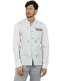 House of Three Men's Linen Waist Coat