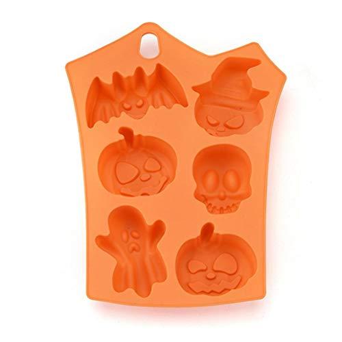 Sacow Halloween Cookies Form, Creative Silikon Kürbis Kekse Form Halloween Kuchen Form Küche Backen Werkzeug