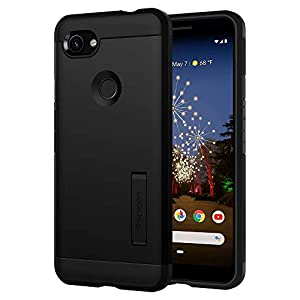 Spigen Tough Armor Compatible for Google Pixel 3a XL Case Cover (2019) - Black