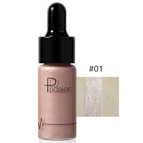Gesicht Lippe Textmarker,FRIENDGG Make-up-Concealer-Schimmer-Gesichts-Glühen-flüssiger Textmarker...