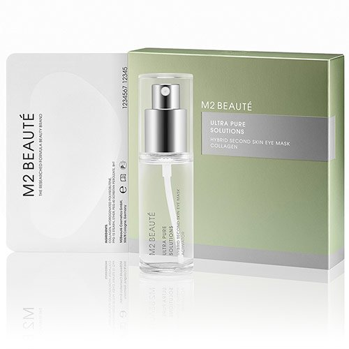 M2 Beauté Hybrid Second Skin Eye Mask Collagen 7St - Augenmaske