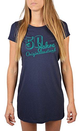 Geschenk zum 50. Geburtstag für Frauen 50 Jahre Originalzustand 50 Jahre für 50 Jährige 50 Geburtstag Geschenkidee Geburtstag Navy-Blau