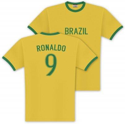 World of Football Player Shirt ronaldo-brasil - M