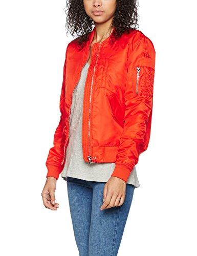 IQ+berlin Damen Jacke 1210-4201, Rot (Red 30), 38 (Herstellergröße:38)