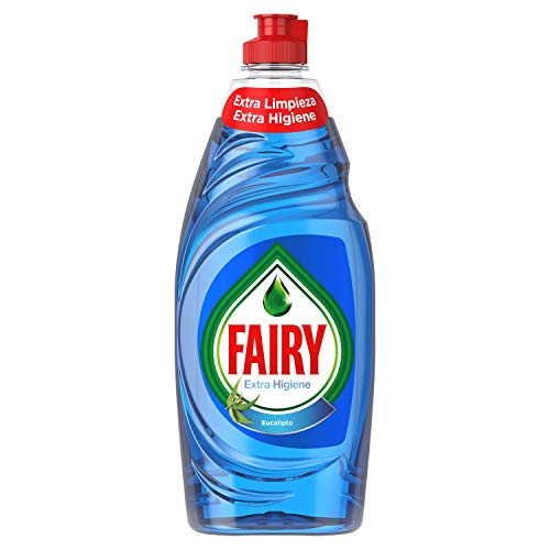 Fairy Extra Higiene Líquido Lavavajillas Eucalipto
